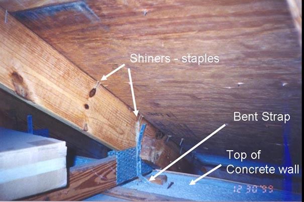 Picture of roofing clip structure