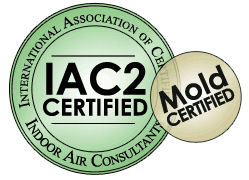 IAC2 Certified and Mold Certified Graphic