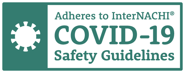 InterNACHI COVID 19 Safety Guideline Compliant Seal